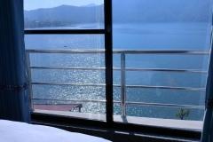 Fwa Lake from Pokhara Hotel Room