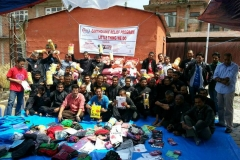 Support for 2015 Nepal Earthquake Victims